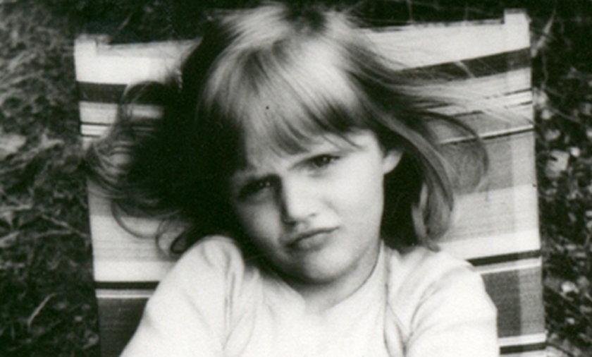 Anja Rubik w dzieciństwie