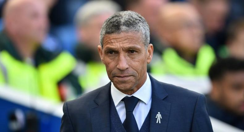 Chris Hughton has been sacked by Championship club Nottingham Forest Creator: Glyn KIRK