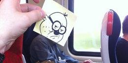 Nuda w pociągu. Zobacz, jak ją zabić?