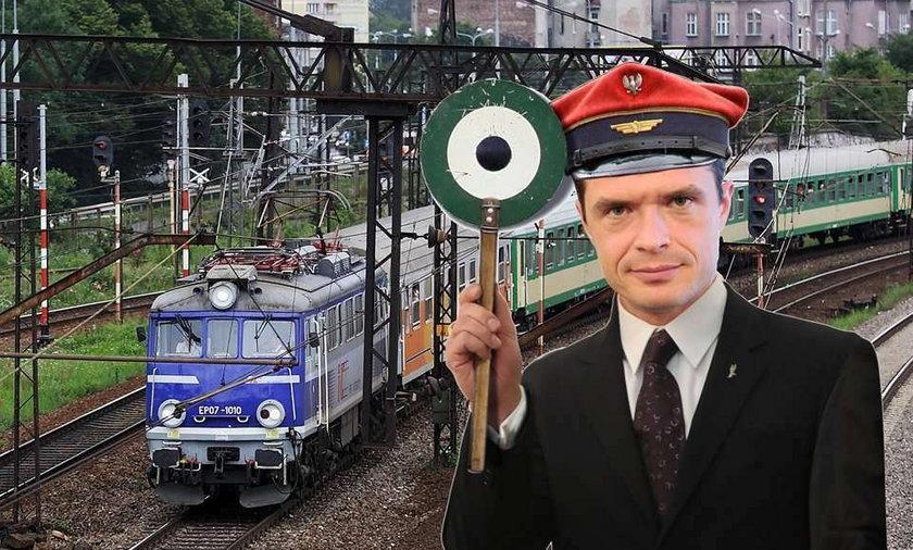 Bajzel na kolei. Maszynista: Nie znam trasy
