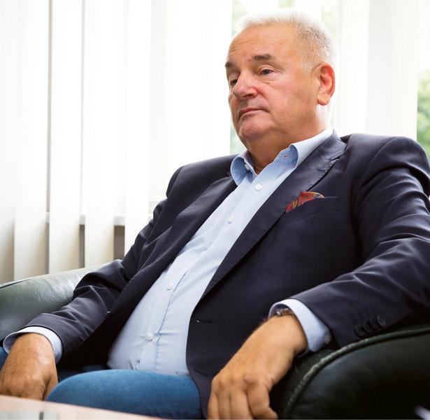Krzysztof Bałanda, prezes zarządu Miejskiego Przedsiębiorstwa Oczyszczania w Warszawie
