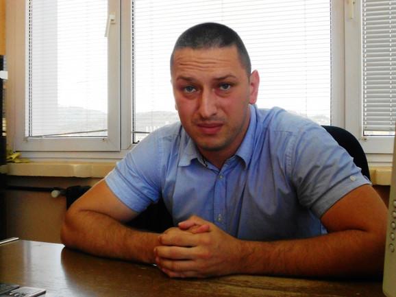 Đorđe Milanović, direktor komunalnog preduzeća Vidrak