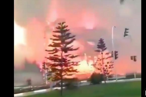 POŽAR U ANTALIJI Vatra bukti u blizini primorskog grada, stanovnici evakuisani (VIDEO)