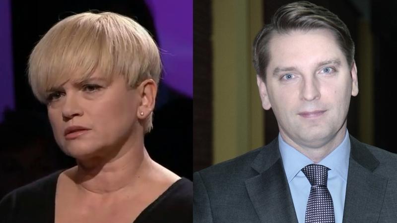 Katarzyna Figura i Tomasz Lis (fot. TVP/Akpa)