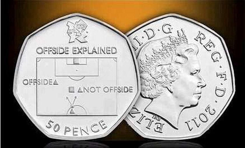 Anglicy wyjaśniają na monecie, kiedy jest spalony