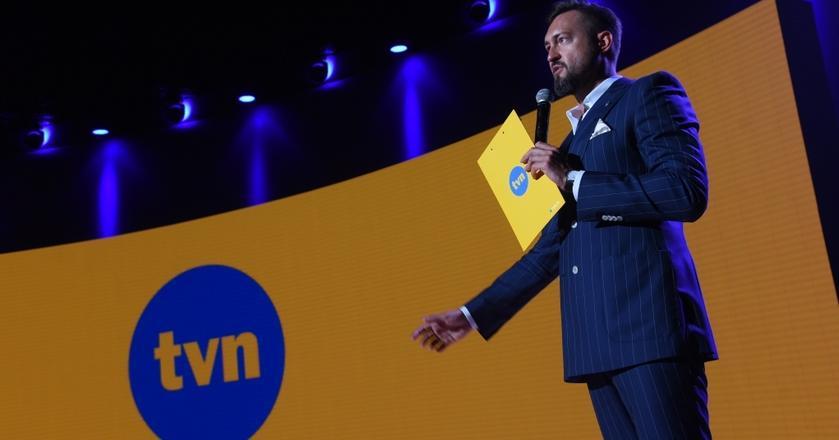 Marcin Prokop co sezon prowadzi konferencje ramówkowe TVN