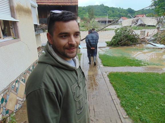 Voda je rušila zidove kao igračke: Dragan Milinković