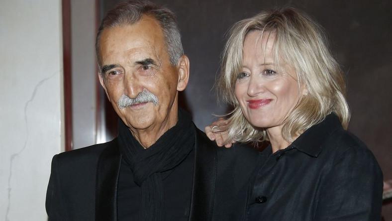 Marek Koterski i Małgorzata Bogdańska