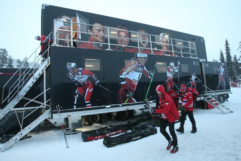 Wyciekł sekret ciężarówki norweskich biegaczy