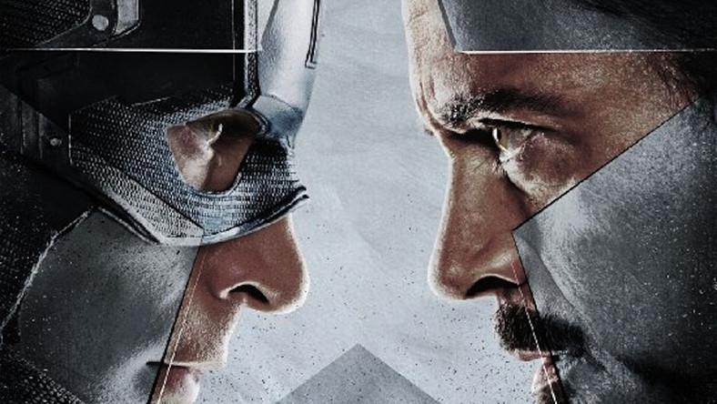 Kapitana Ameryka i Iron Man na pierwszym plakacie