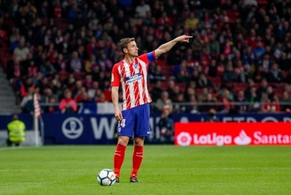 Gabi z opaską kapitana Atletico