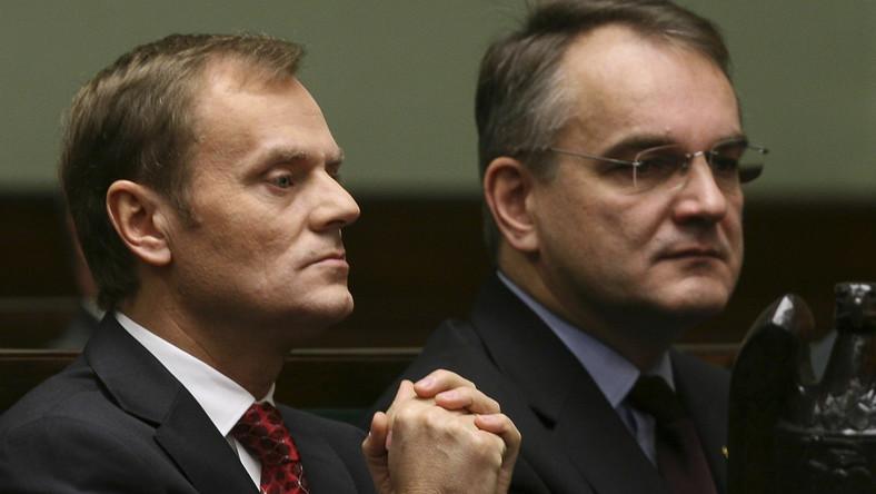 Premier i wicepremier w Sejmie