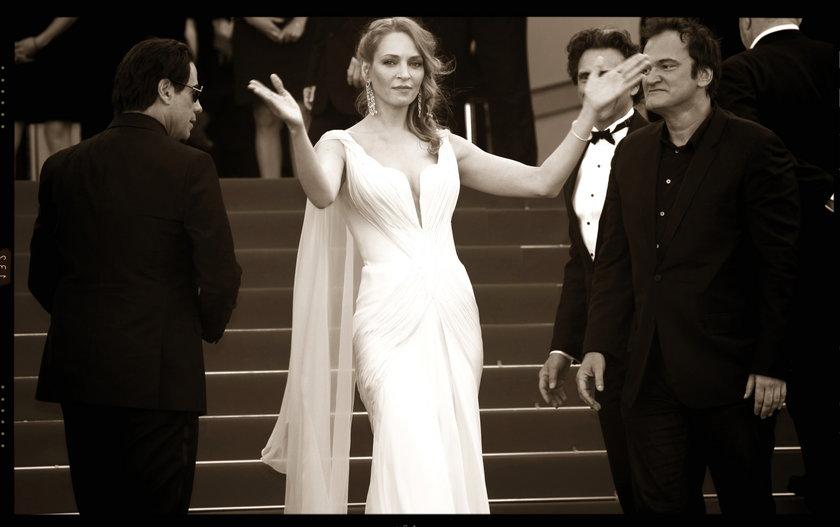 John Travolta, Quentin Tarantino i Uma Thurman