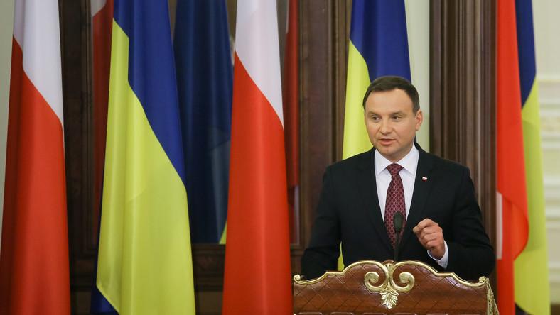 Prezydent Andrzej Duda w Kijowie