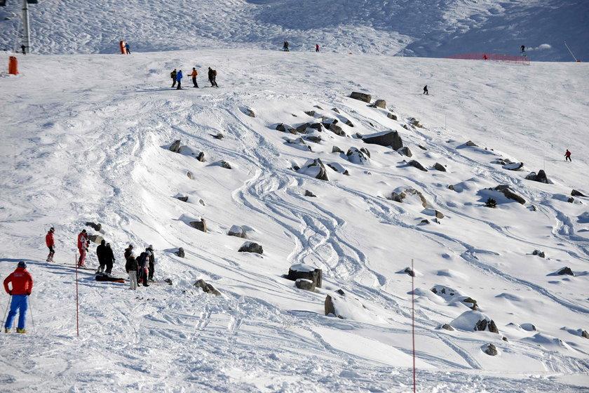 Michael Schumacher - wypadek w Alpach