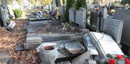 Tak hieny cmentarne łupią groby! GALERIA
