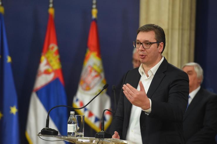 Aleksandar Vučić, sastanak o korona virusu