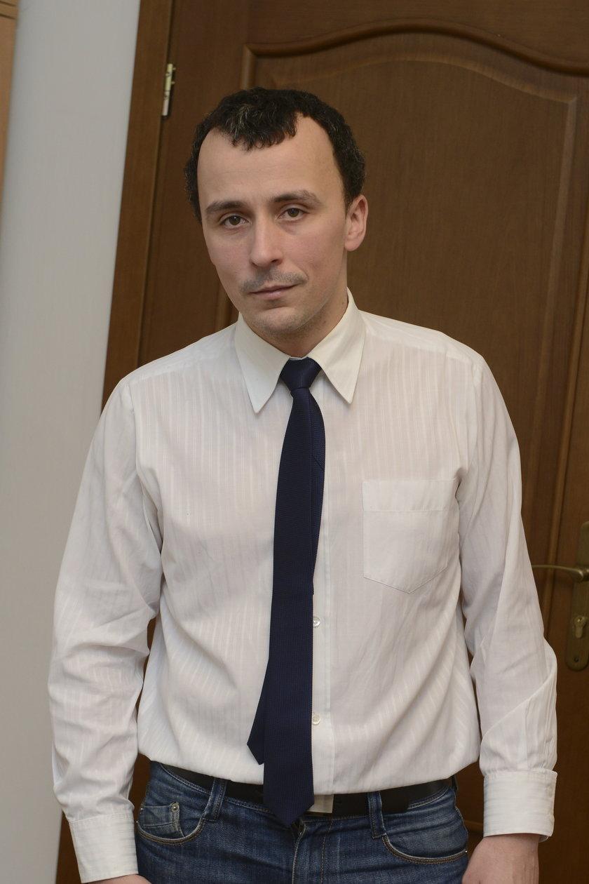 Piotr Stachura (28 l.), rzecznik RZGW