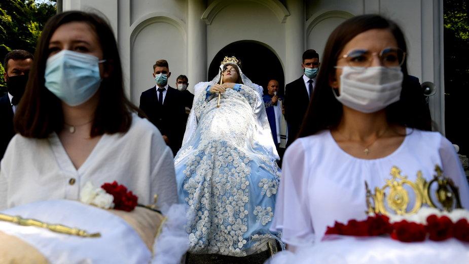 Kalwaria Pacławska. W sanktuarium rozpoczyna się 5-dniowy Wielki Opust Wniebowzięcia NMP