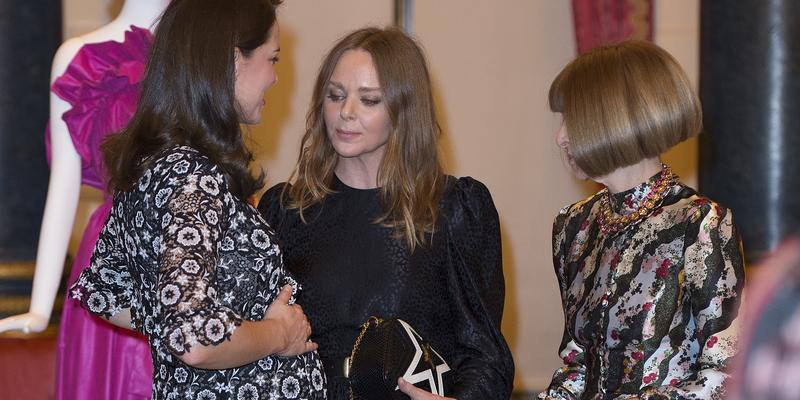 Księżna Kate Middleton na spotkaniu z Anną Wintour i Stellą McCartney