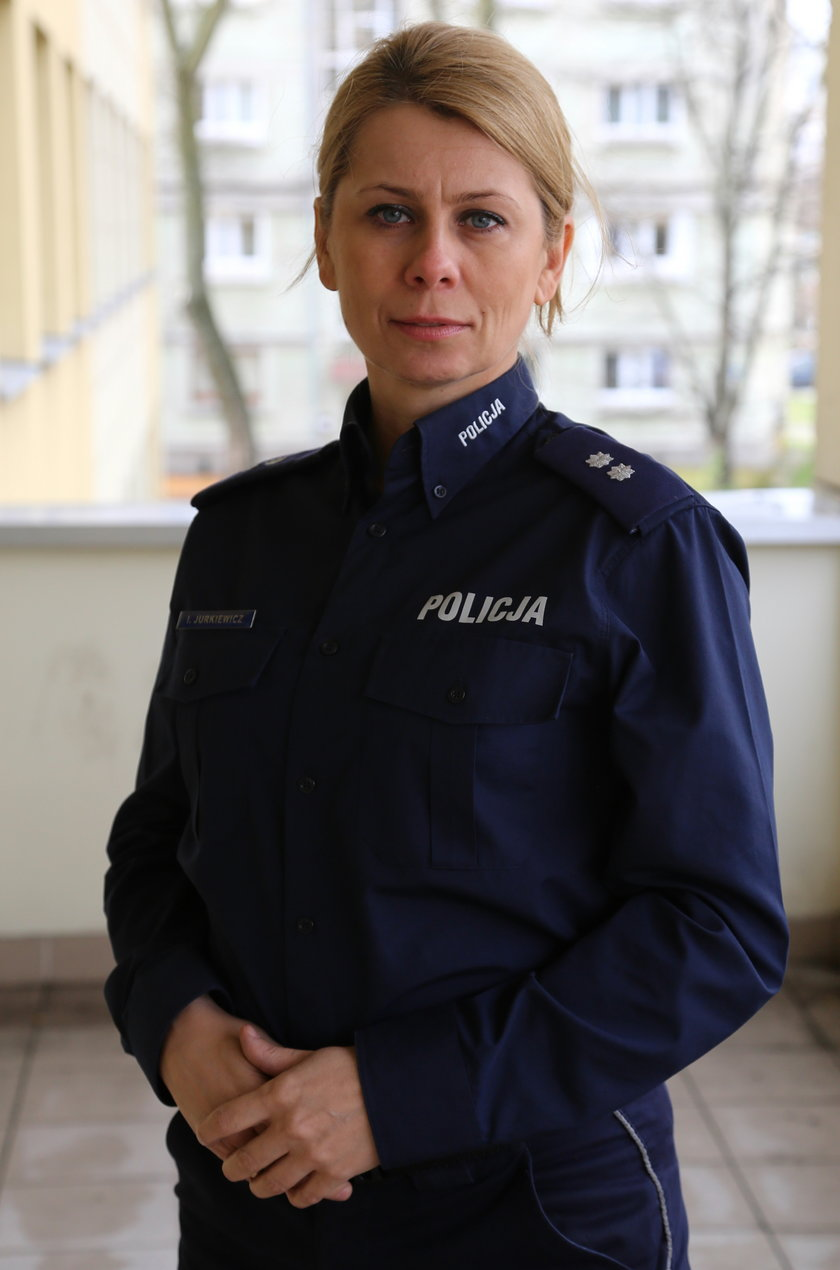 Podkomisarz Iwona Jurkiewicz z KSP