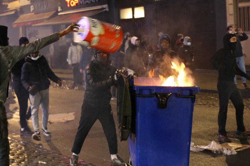 Zamieszki w Brukseli