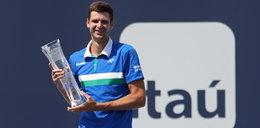 Wielki sukces Huberta Hurkacza. Polak wygrał prestiżowy turniej w Miami!