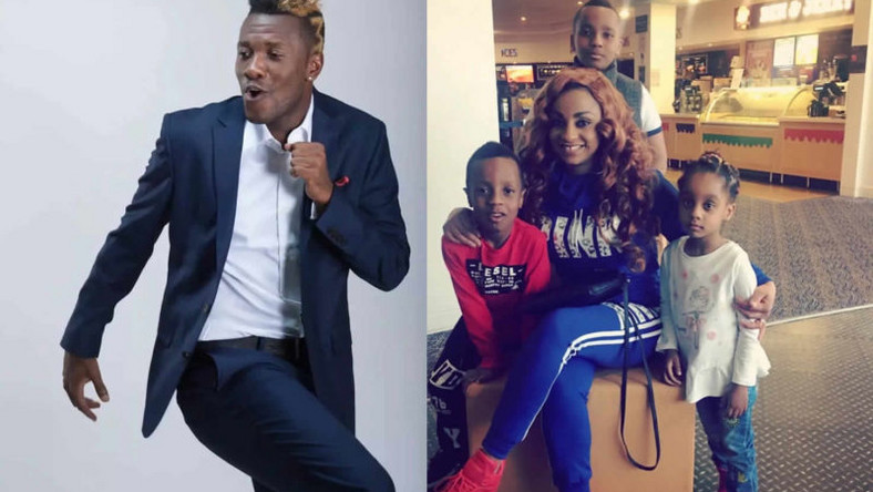Image result for images of Ghanaian striker, Asamoah Gyan to pay his estranged wife £18,450.74 as maintenance fee