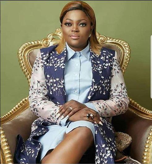 Funke Akindele first came into limelght in the late 1990s tv drama series 'I Need To Know' [Instagram/FunkeJenifaAkindele]