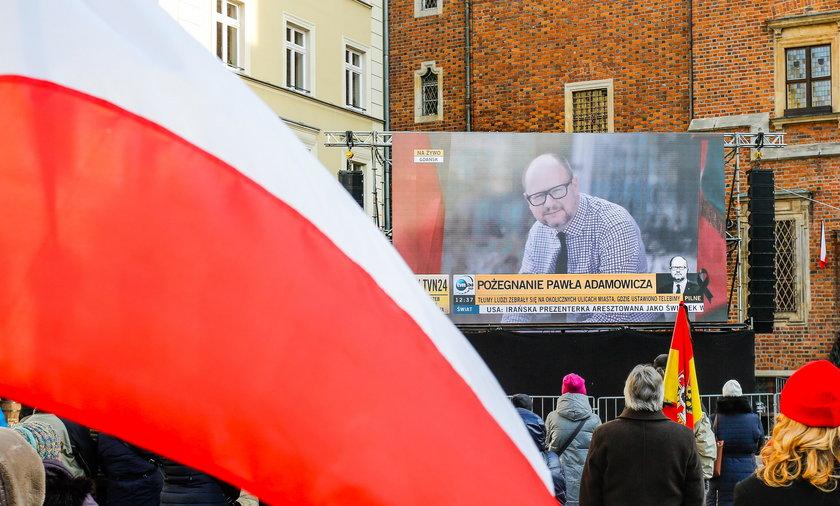 Wrocław pożegnał Pawła Adamowicza