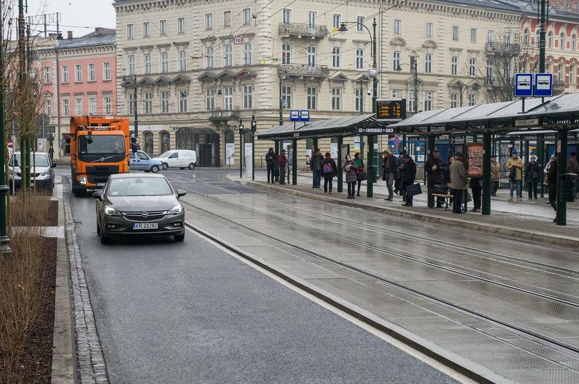 Ul. Basztowa w Krakowie