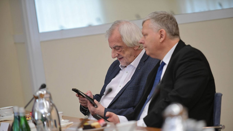 Ryszard Terlecki i Marek Suski