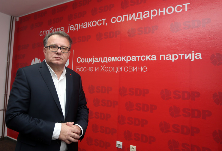 Nermin Niksic lider SDP BiH