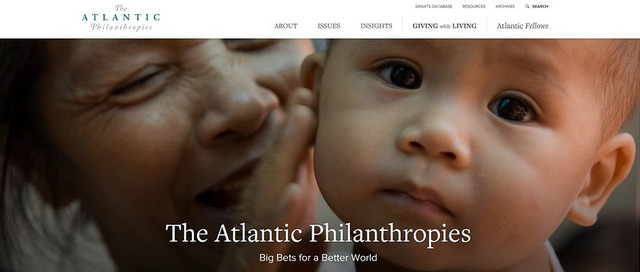 Sajt fondacije Atlantik filantropis