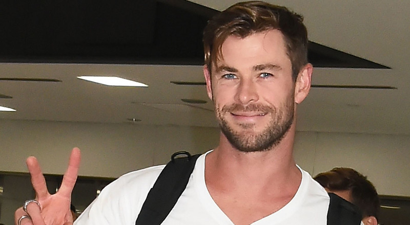 Chris Hemsworth Looks Ripped in Shirtless Photo on Family Vacation in Queensland, Australia
