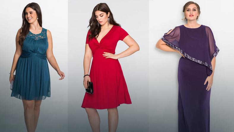 f945b255f9 Sukienki na studniówkę w rozmiarze XXL - Moda