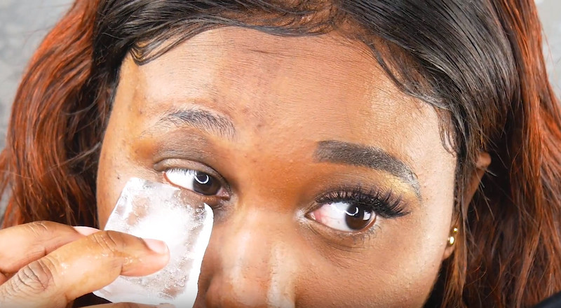 Ice cubes are one of the best skincare secrets, here's why