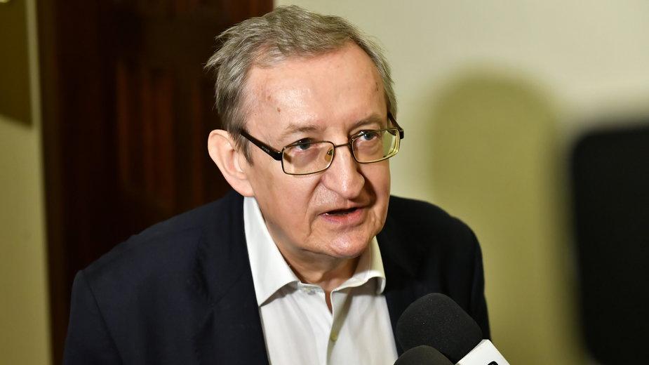 Były senator Józef Pinior skazany. Wyrok w sprawie zeznań majątkowych