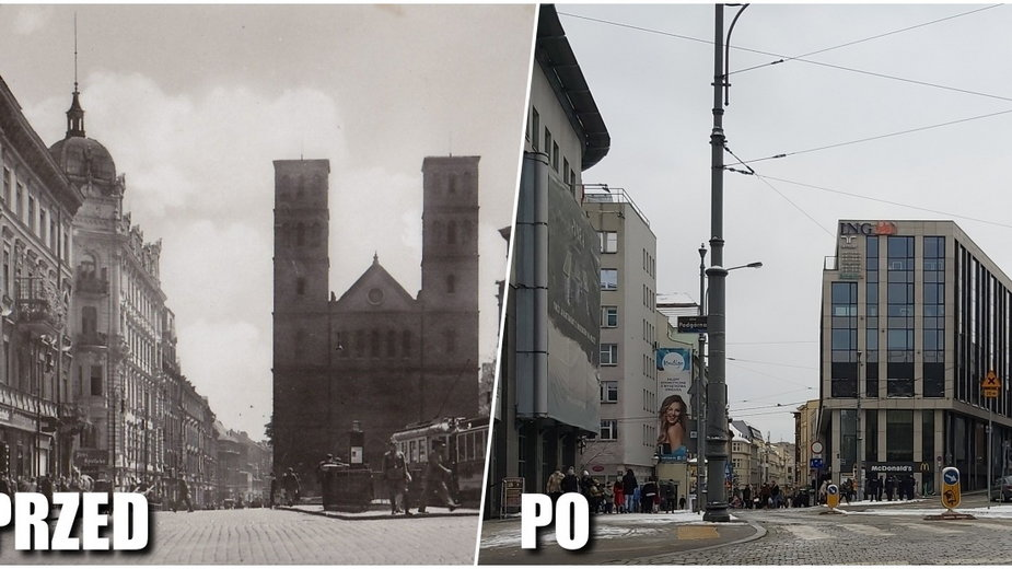 Architektura przedwojennego Poznania: Plac Wiosny Ludów kiedyś i dziś