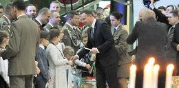 Prezydent spotkał się z żołnierzami