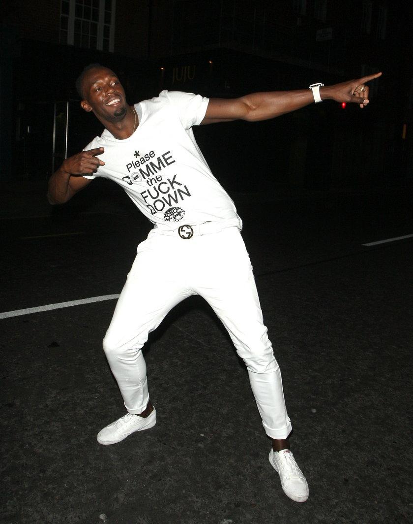 Tak Usain Bolt bawił się w warszawskich nocnych klubach po wygraniu memoriału Kamili Skolimowskiej!