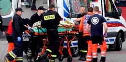 Sam podpalił się pod sklepem w Chojnicach, zmarł w szpitalu
