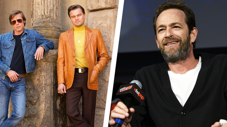 Leo and Brad Pitt Were Starstruck By Luke Perry