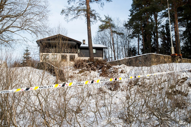 Kuća bračnog para Hagen koja se nalazi na 15 kilomenatara od Osla: slika iz januara 2019.