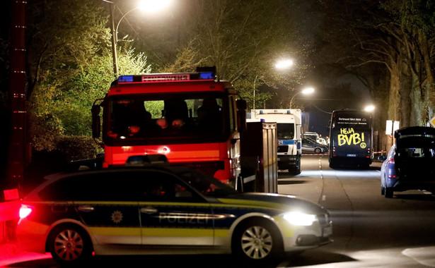 Miejsce ataku na autobus Borussii