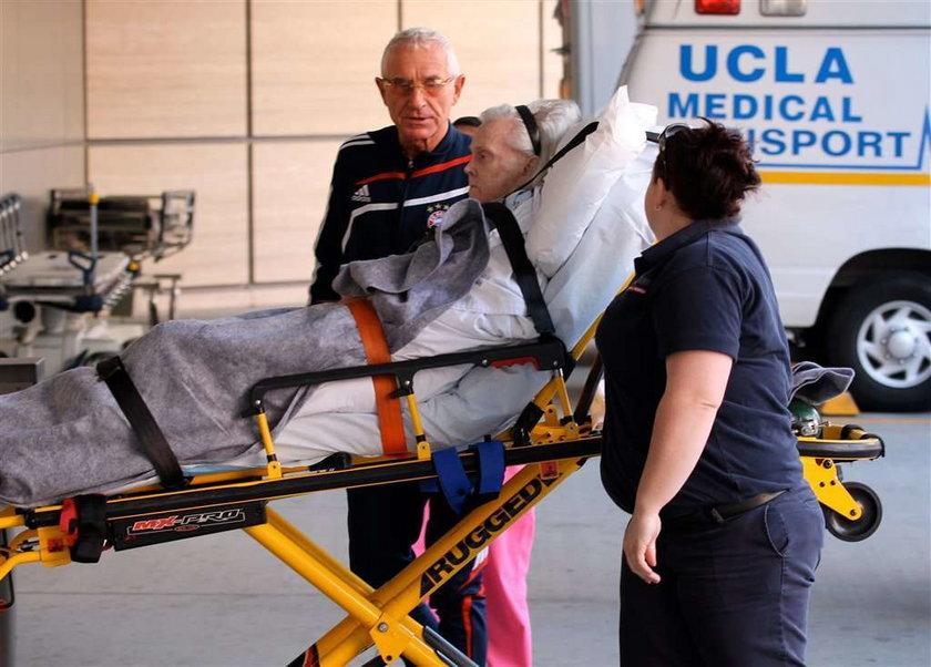 Gwiazda znowu trafiła do szpitala!