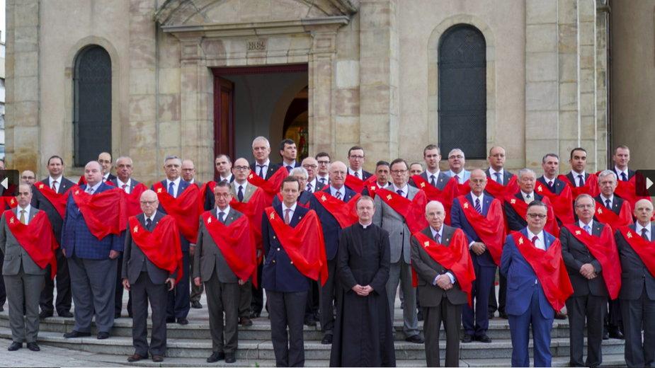 Spotkanie liderów ultrakatolickich organizacji na świecie. Francja, Creutzwald, wrzesień 2020, fot. tfp-france.org