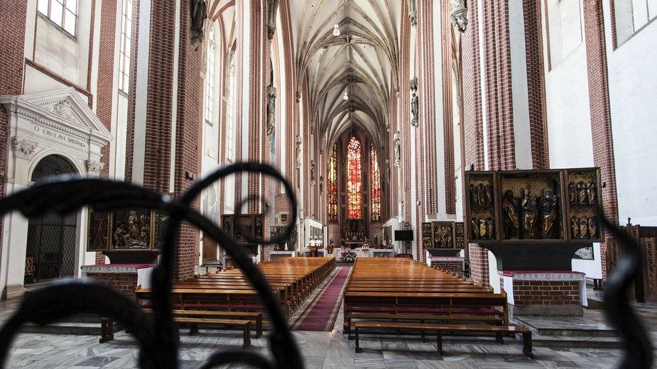 Kościół pw. Najświętszej Marii Panny w którym doszło do ataku na księdza
