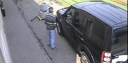 Po pijaku okradł samochód. Nagrała go kamera