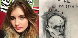 Chora na schizofrenię 18-latka rysuje to, co widzi